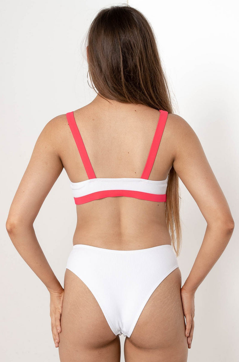 BRIELLE CLIPPED BIKINI TOP - CHICKABERRY BOUTIQUE Australia Womens
