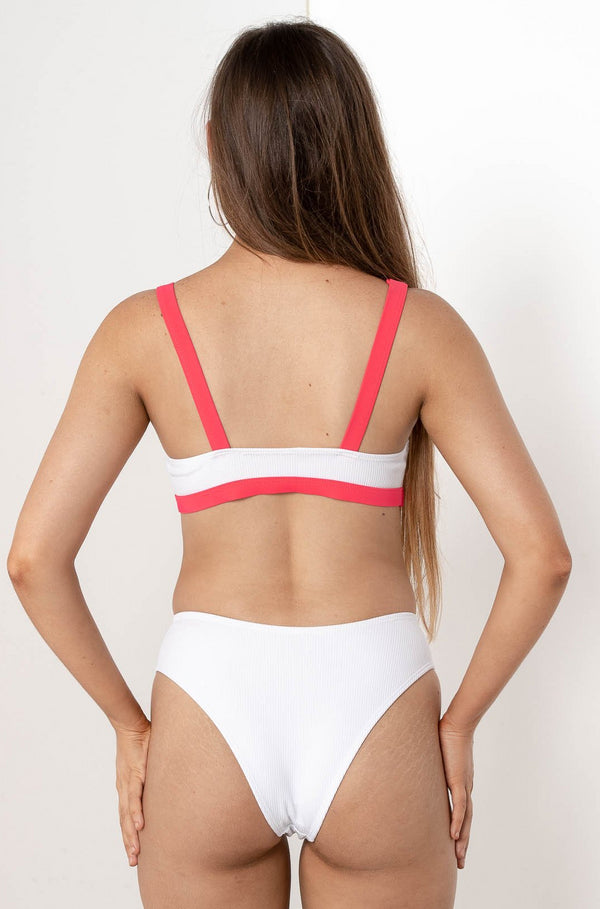 BRIELLE CLIPPED BIKINI BOTTOM - CHICKABERRY BOUTIQUE Australia Womens
