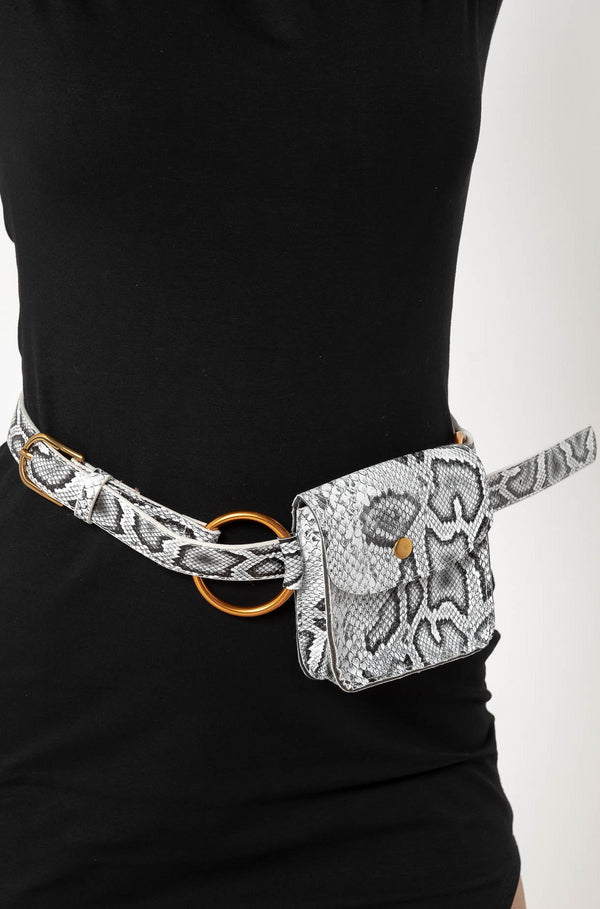 RATTLESNAKE BELT BAG - CHICKABERRY BOUTIQUE Australia Womens