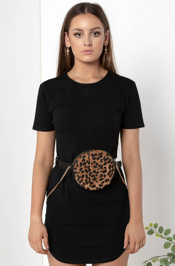 LEOPARD BELT BAG - CHICKABERRY BOUTIQUE Australia Womens