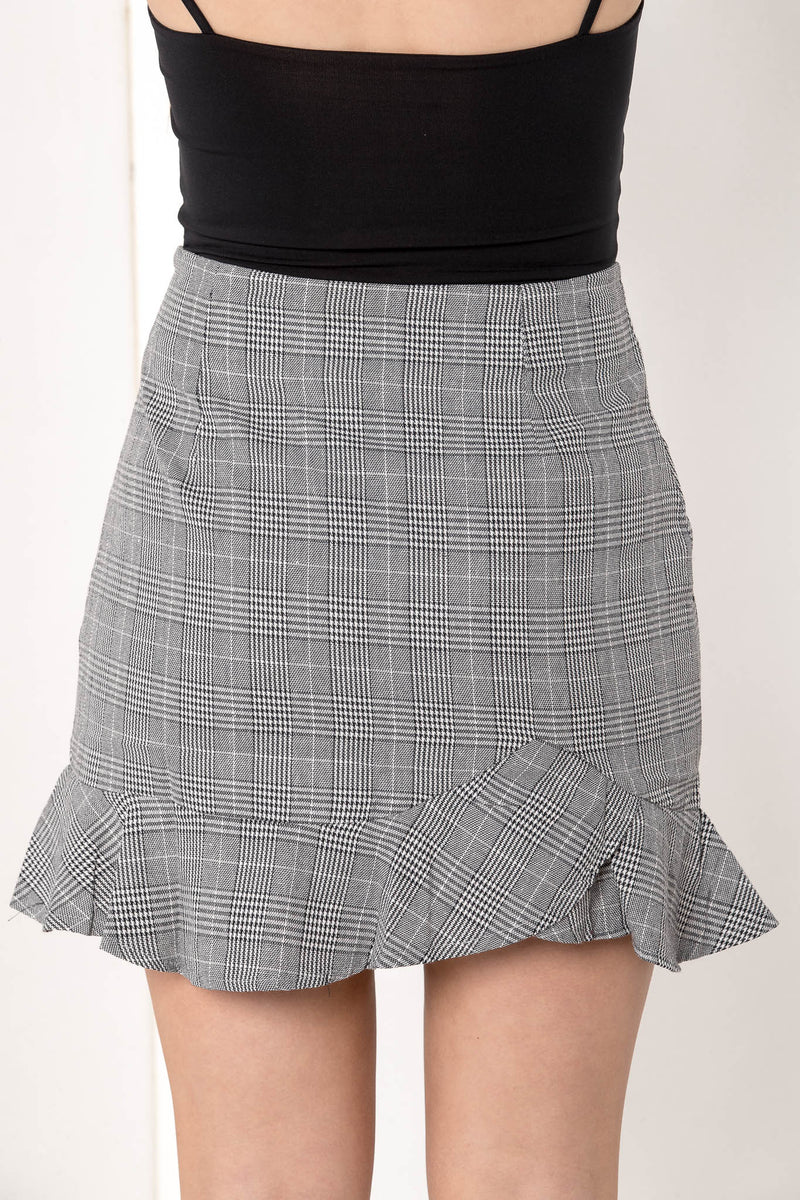 HEART BREAKER FLARE MINI SKIRT - CHICKABERRY BOUTIQUE Australia Womens