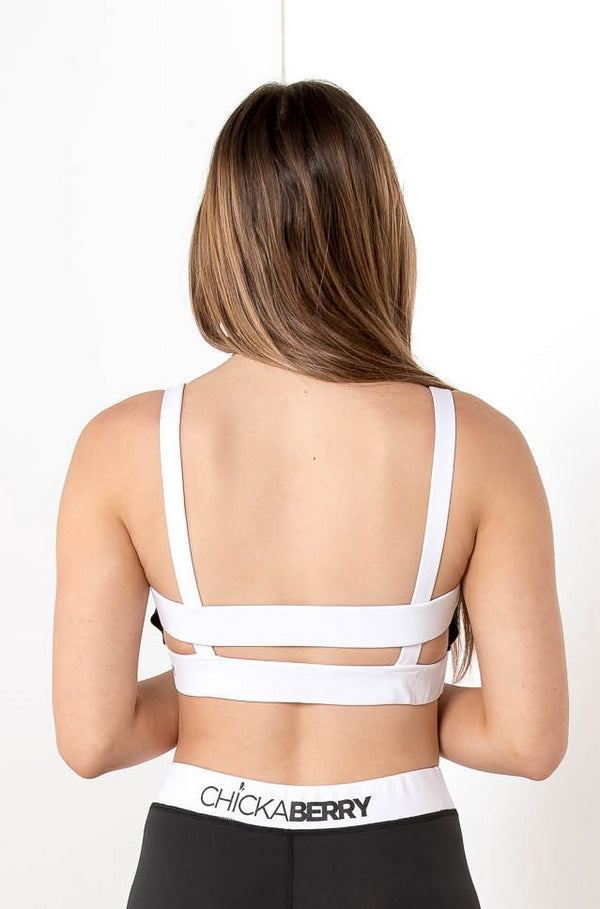 CHICKABERRY SPORTS CROP TOP - CHICKABERRY BOUTIQUE Australia Womens