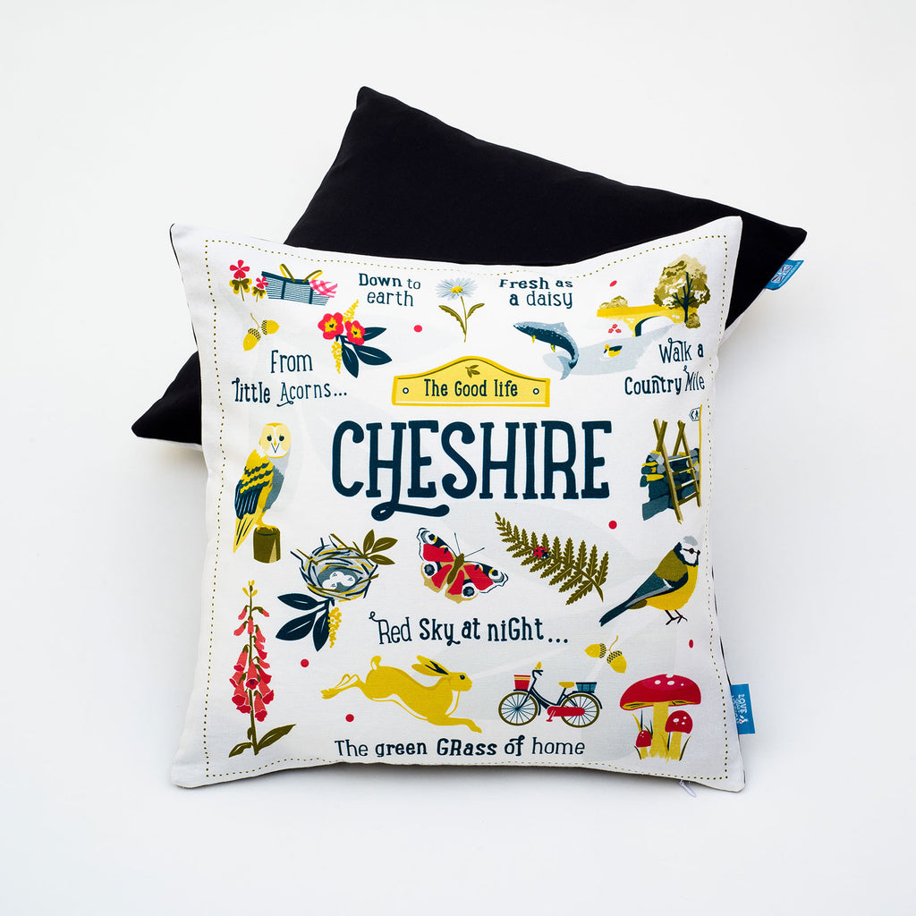 Cheshire Cushion