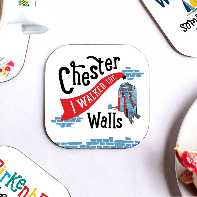 Chester 'Walked the Walls' Coaster