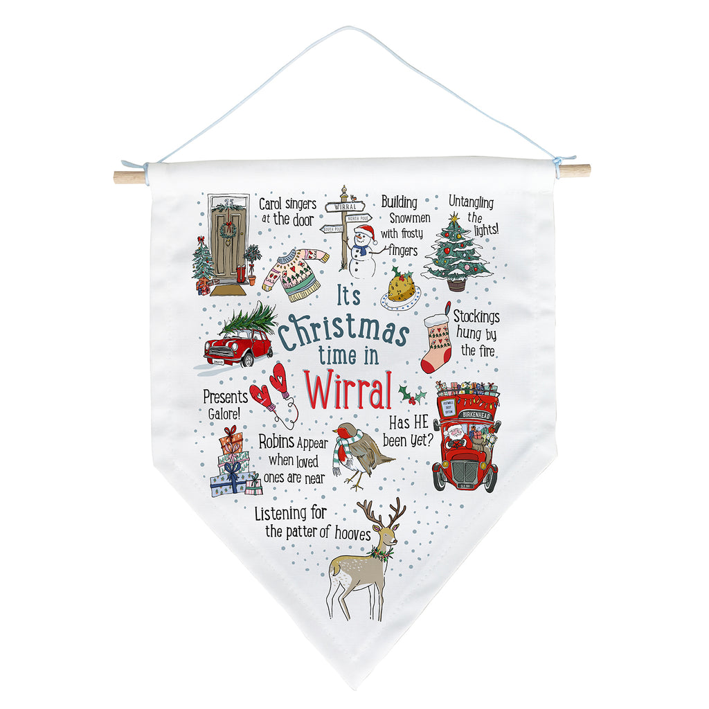 Personalised Christmas Banner