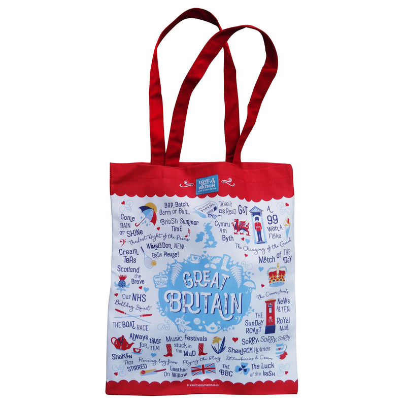 Great Britain Cotton Canvas Bag
