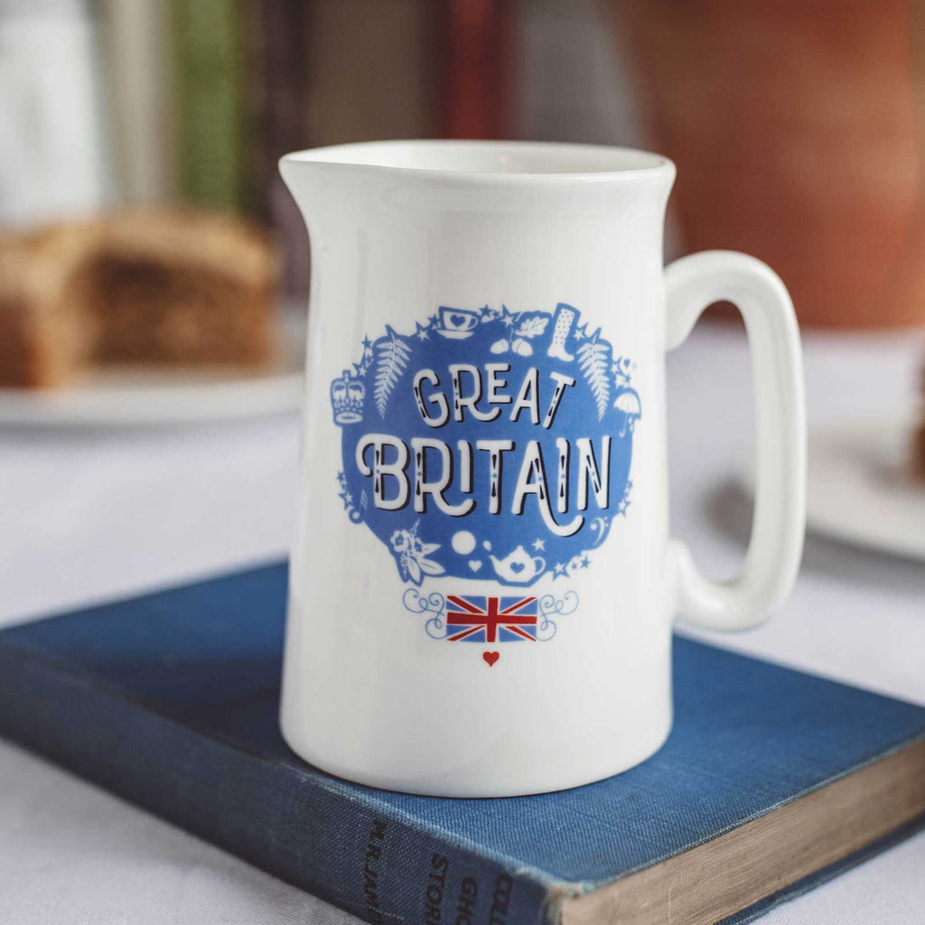 Great Britain Jug