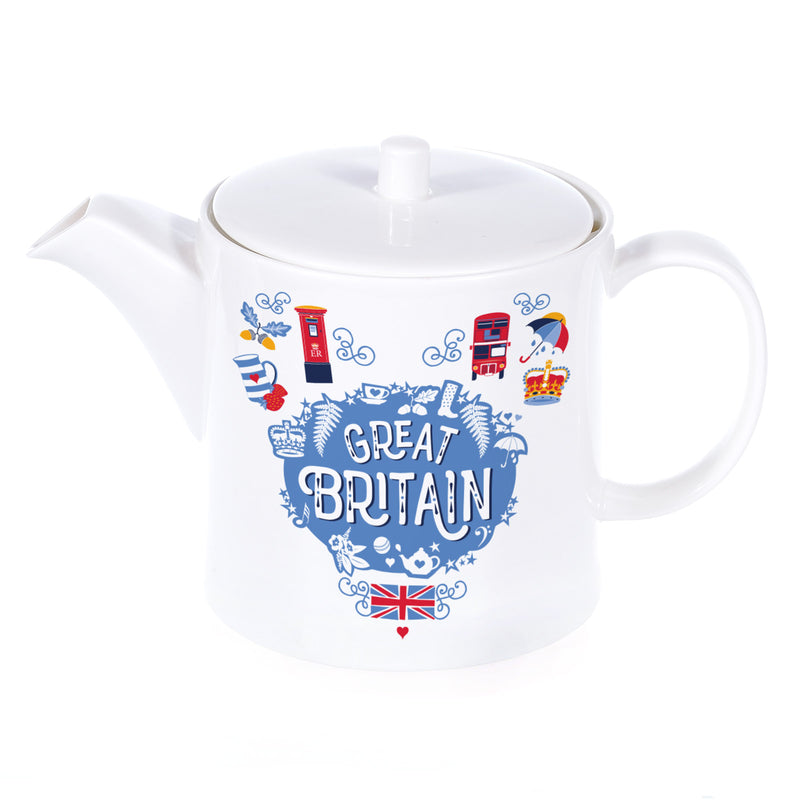 Great Britain Teapot