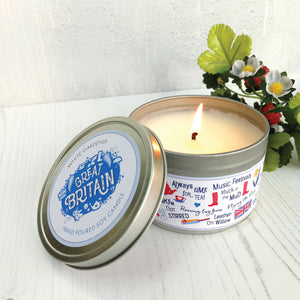 Great Britain Scented Soy Candle