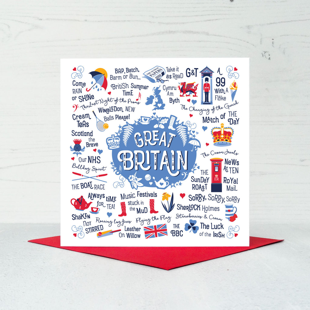 Great Britain Greeting Card