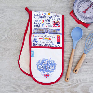 Great Britain Double Oven Glove