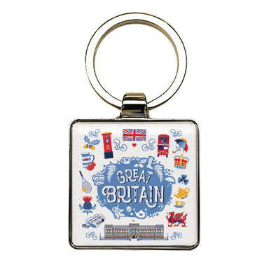 Great Britain Keyring