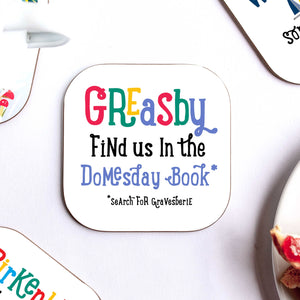 Greasby Coaster