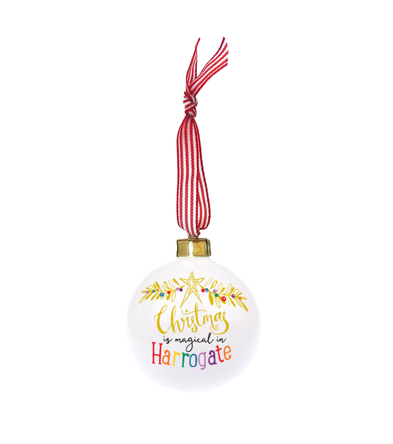 Magic of Christmas Personalised Christmas Bauble