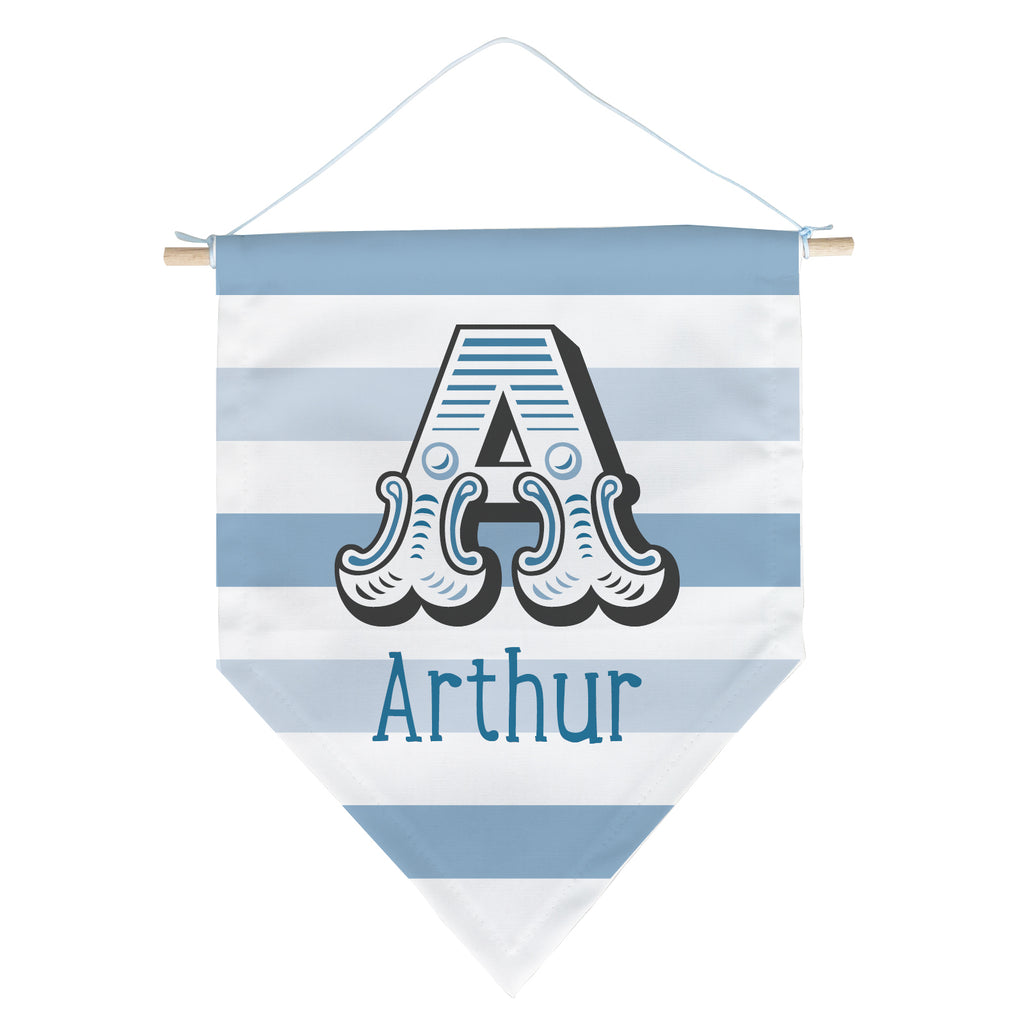Personalised Initial Banner