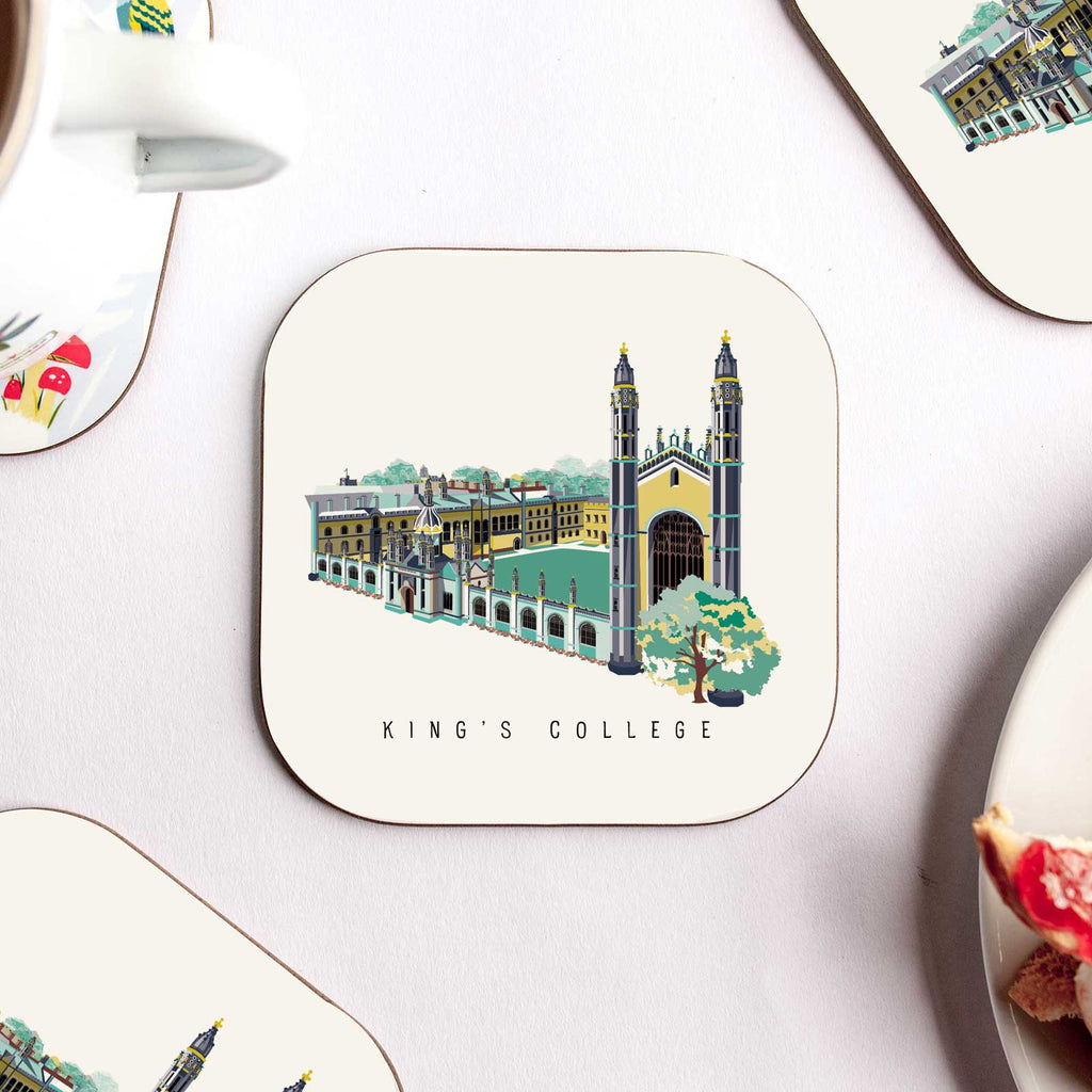 Kings College Coaster