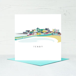 Tenby Greeting Card