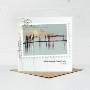 West Kirby Greeting Card