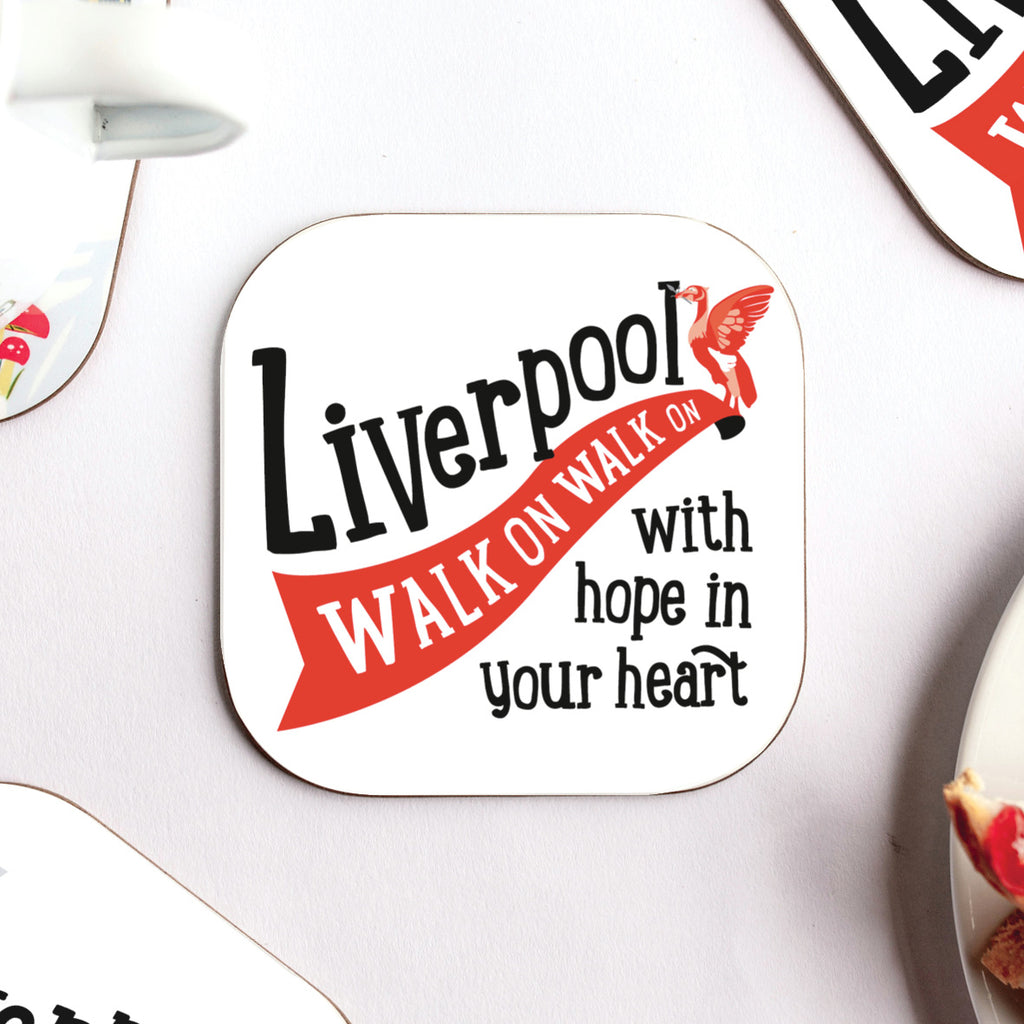 Liverpool 'Walk On' Coaster