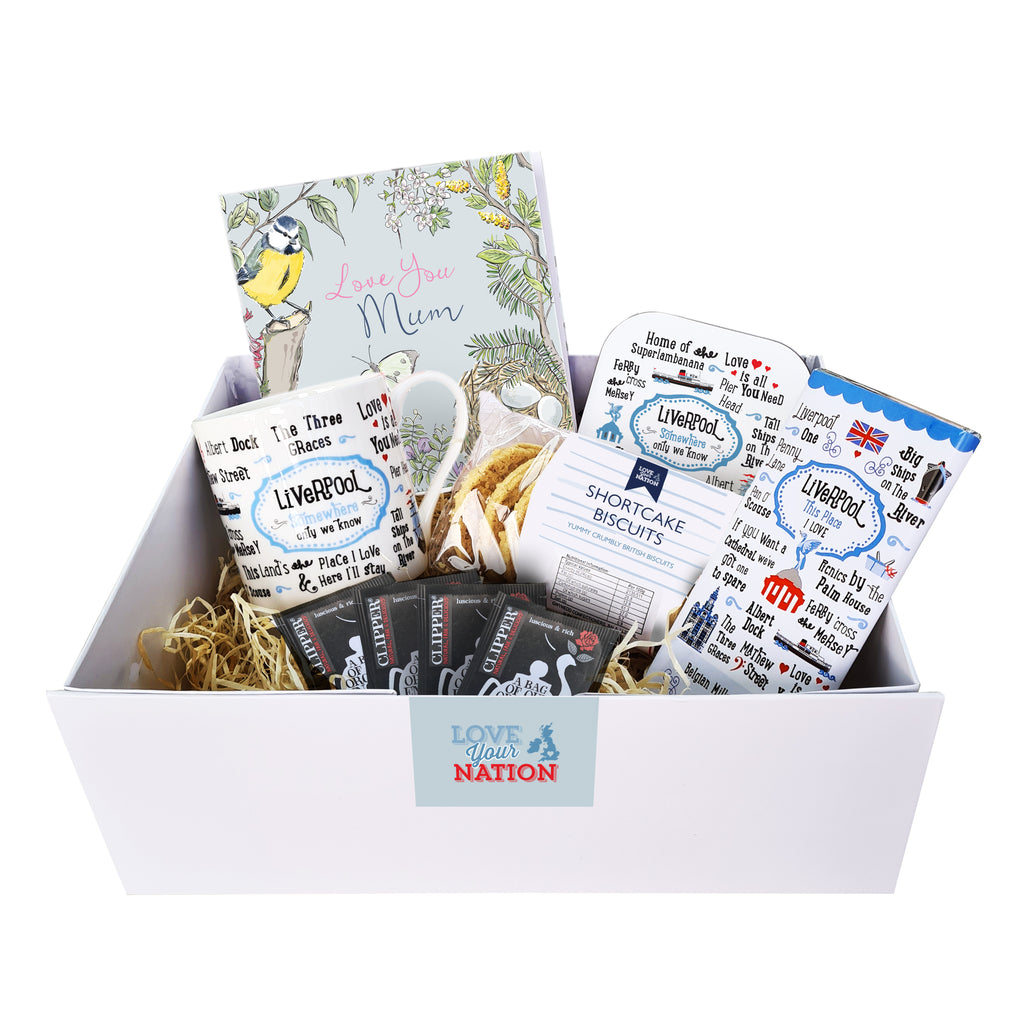 Liverpool Afternoon Tea Gift Box