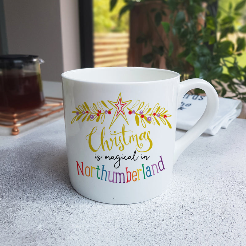 Magic of Christmas Personalised Mug