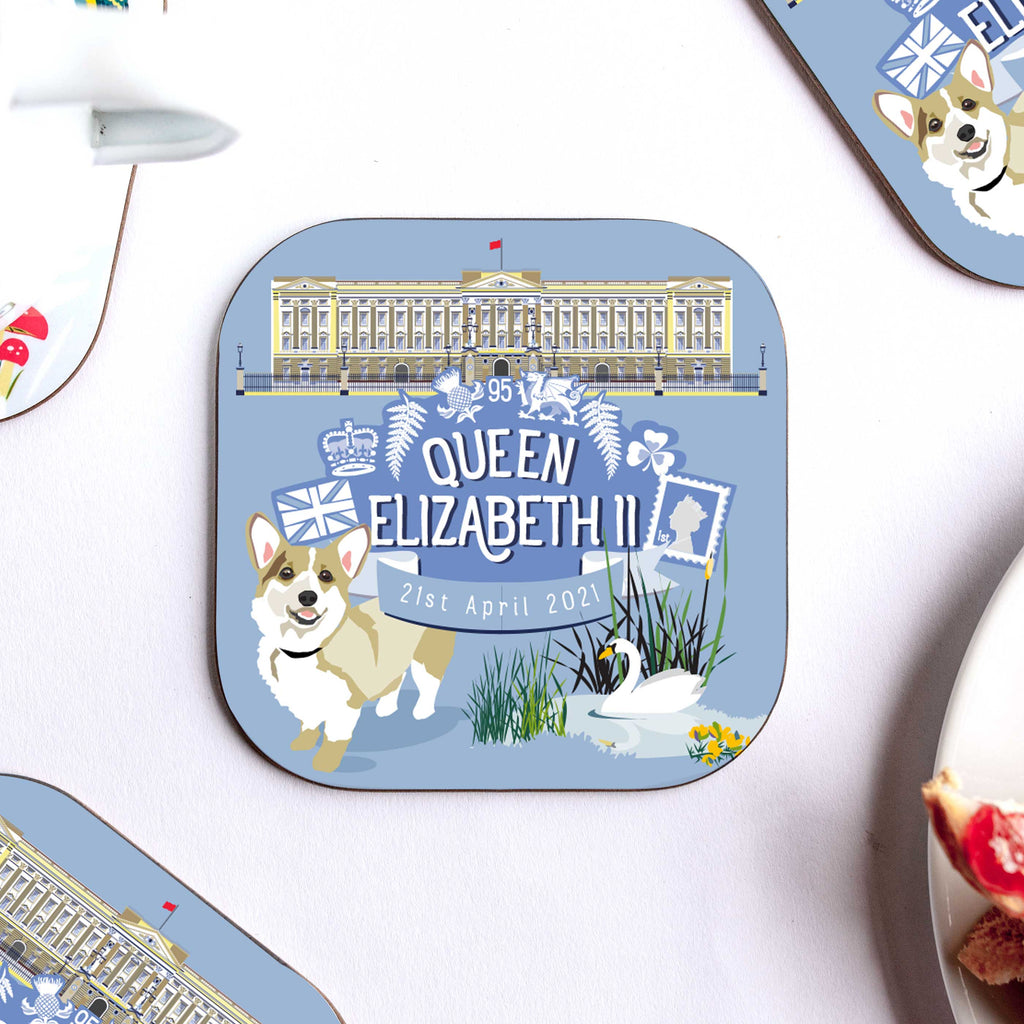 Queen Elizabeth II - 95th Birthday Coaster