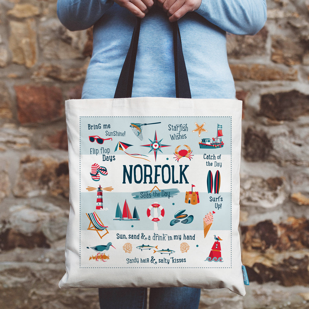 Norfolk Coastal Shopping Tote