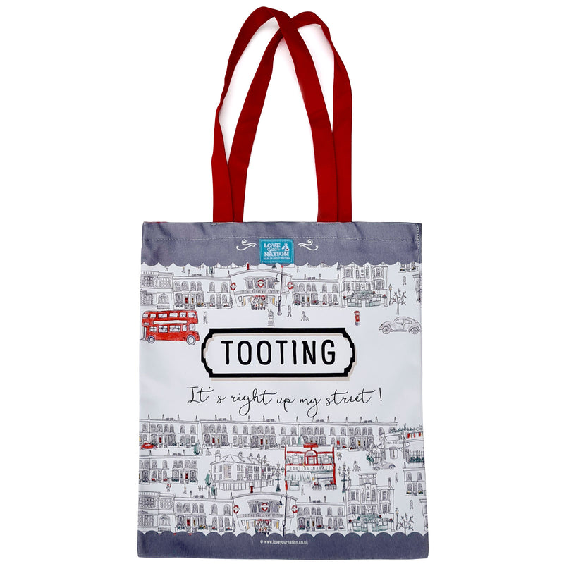 Tooting Cotton Canvas Bag