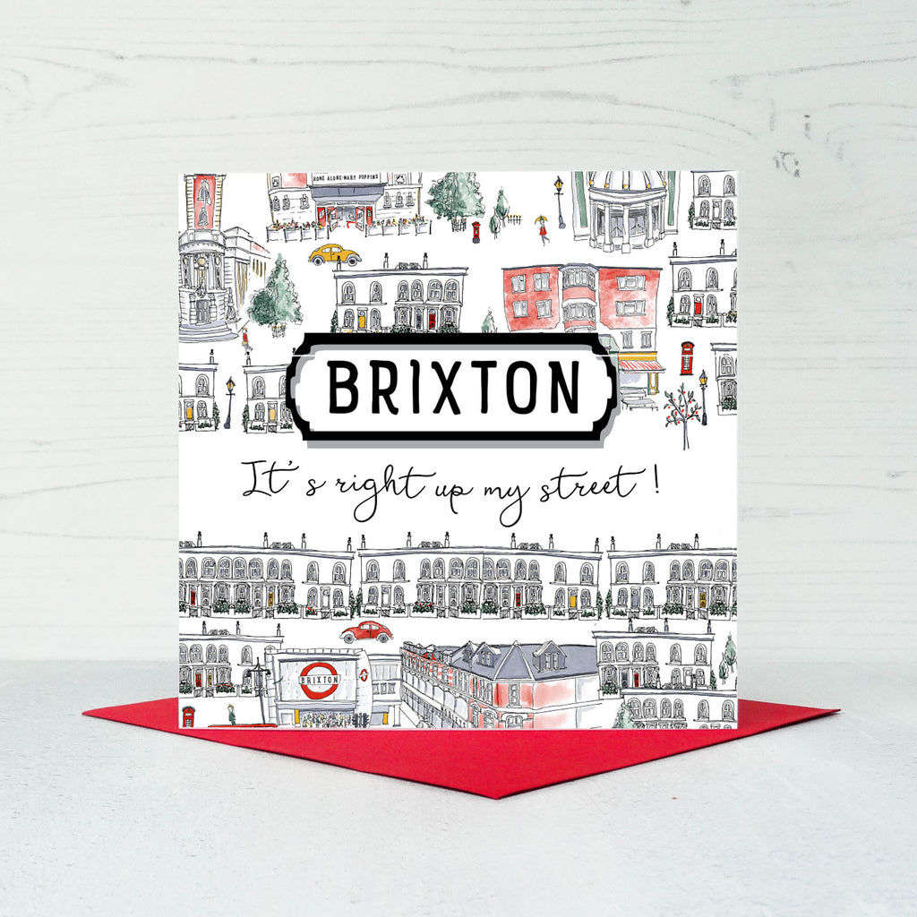 Brixton Greeting Card
