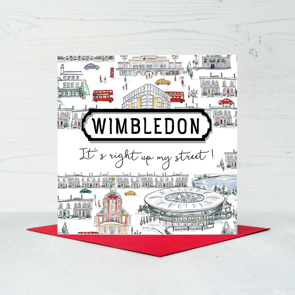 Wimbledon Greeting Card