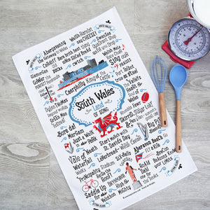South Wales Tea Towel