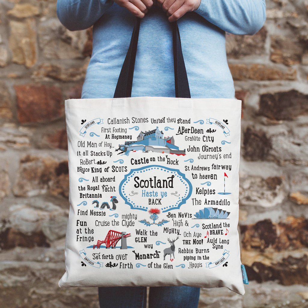 Scotland Shopping Tote
