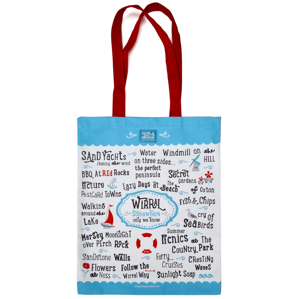 Wirral Cotton Canvas Bag