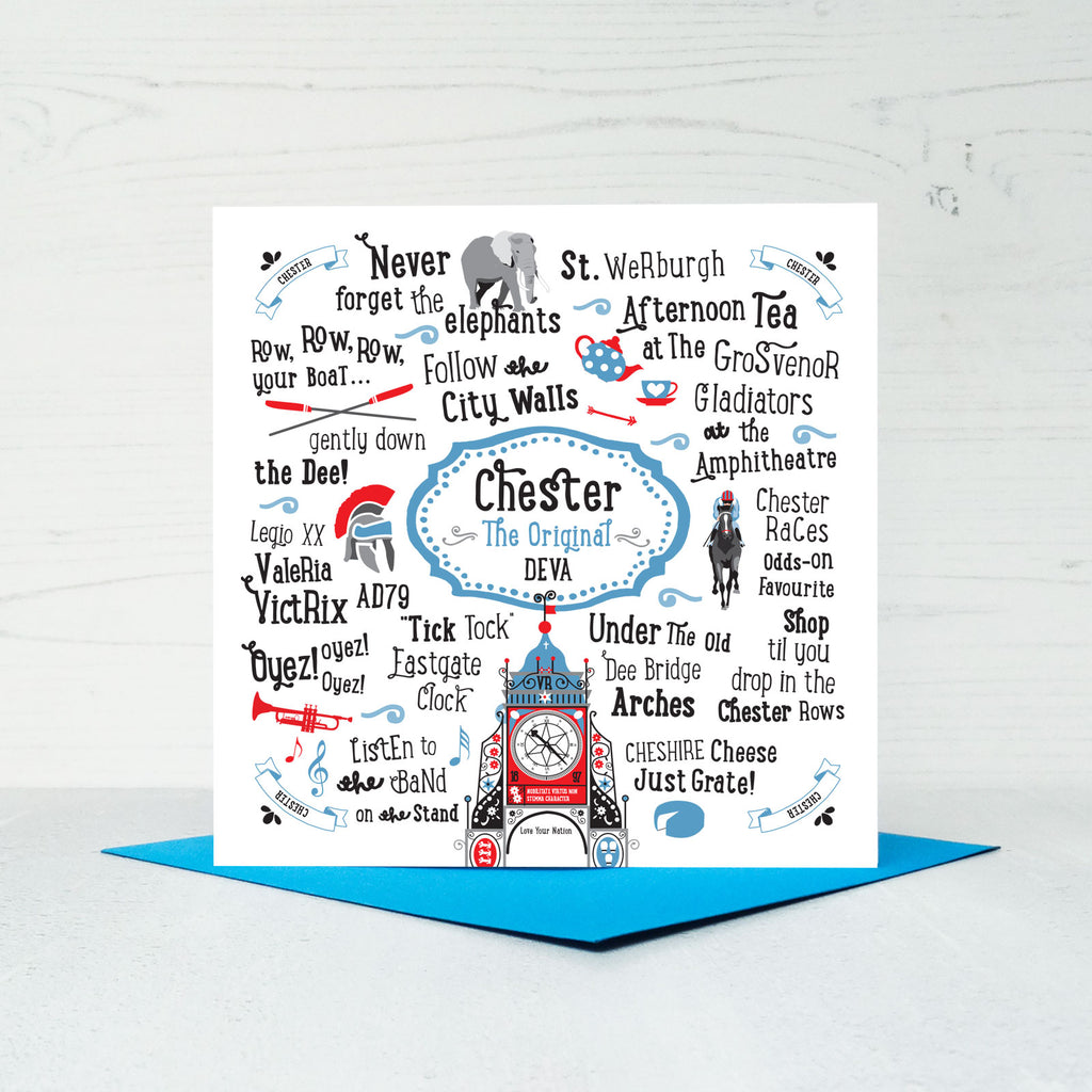 Chester Greeting Card