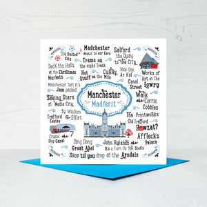 Manchester Greeting Card