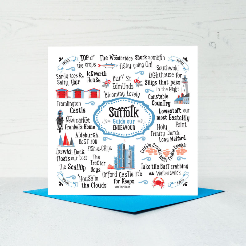 Suffolk Greeting Card
