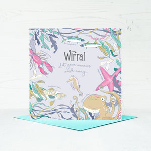 Wirral Greeting Card
