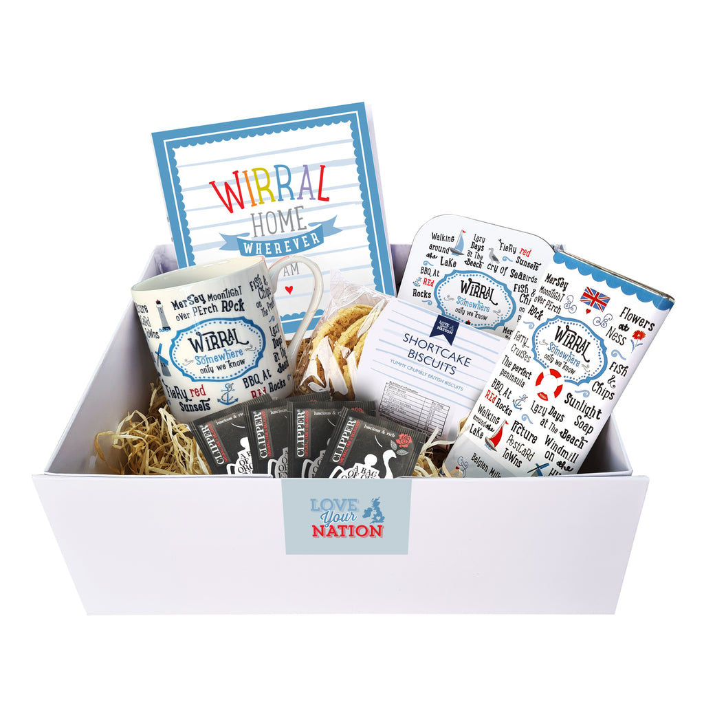 Wirral Afternoon Tea Gift Box