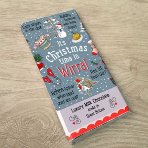 Wirral Christmas Luxury Milk Chocolate