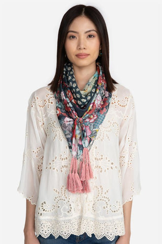 Johnny Was Nellie Scarf Multi Color