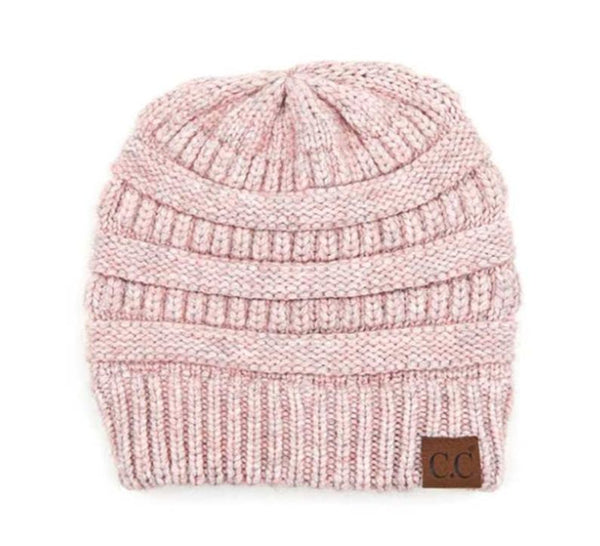 CC Mixed Soft Yarn Beanie