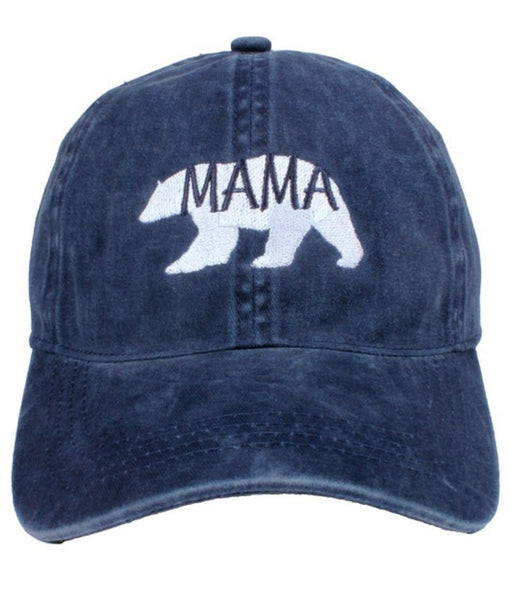 Mama Bear Hat l, Multiple Colors