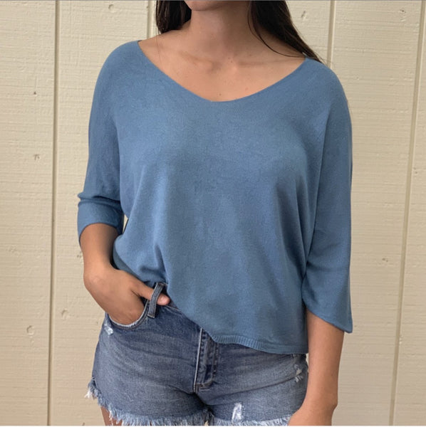 Soft Made In Italy Knit Top