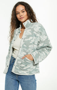 Z Supply Quilted Camo Jacket