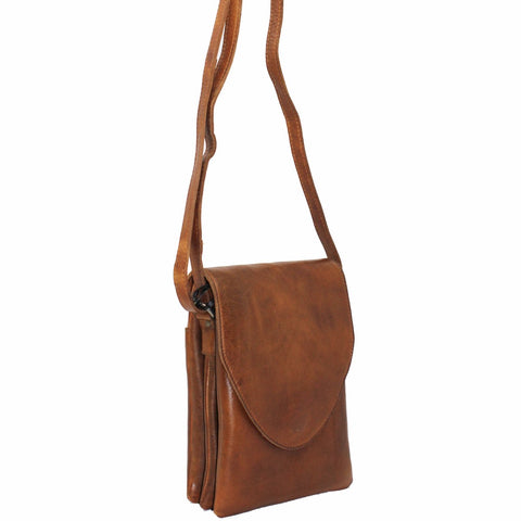 Latico Leather Pippa Crossbody, Cognac