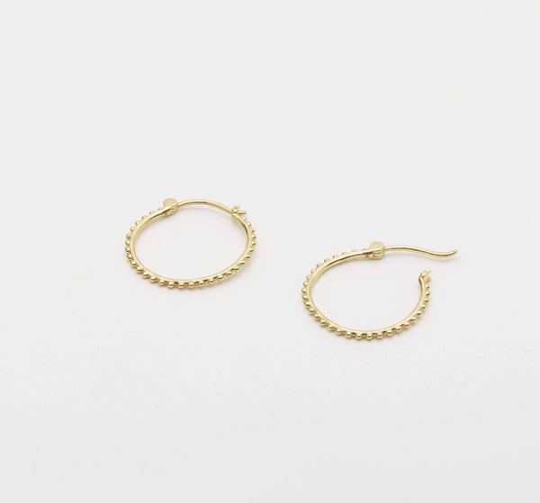 Gorjana Bali Small Gold Hoops