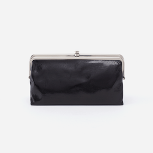 Hobo Lauren Wallet, Black