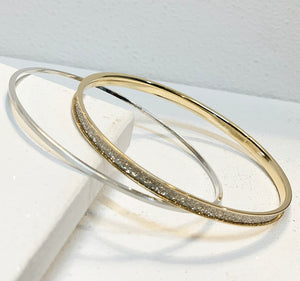 Sparkle Bangle Set