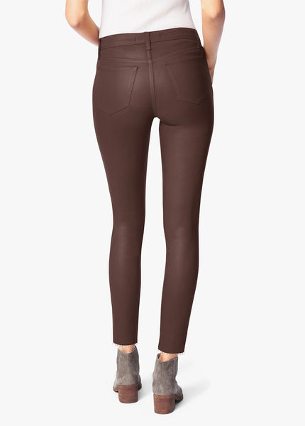 Joe's Jeans The Charlie High Rise Skinny Ankle Cocoa Bean