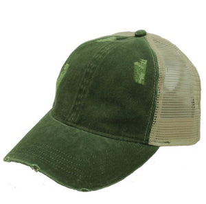 Distressed Hat, Multiple Colors